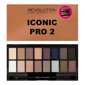 MAKEUP REVOLUTION Paleta 16 cieni Iconic Pro 2 16g