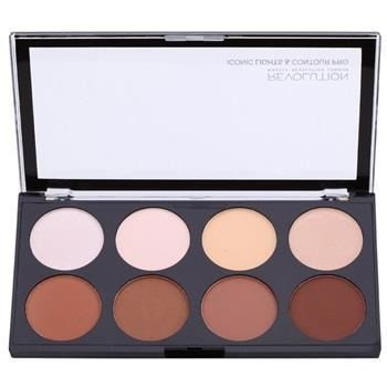 MAKEUP REVOLUTION Paleta do konturowania twarzy Iconic Lights & Contour Pro 13g