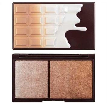 MAKEUP REVOLUTION Paletka do konturowania twarzy Chocolate Bronze And Shimmer 11g