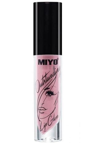 MIYO Outstanding Lip Gloss Błyszczyk Nude 21 FOR KEEP ON THE LIPS 4 ml