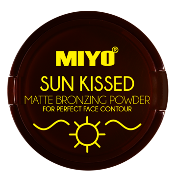 MIYO SUN KISSED POWDER Puder Brązujący matowy no.02 Chilly bronze 10 g