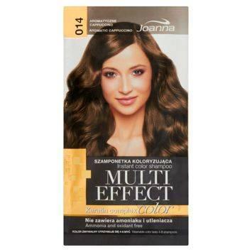 MULTI EFFECT color Keratin complex Szamponetka koloryzująca Aromatyczne cappuccino  /014/