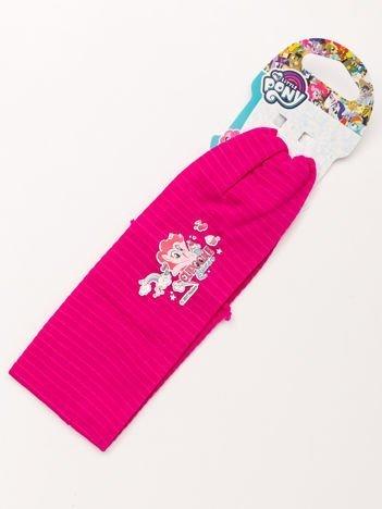 MY LITTLE PONY Opaska do włosów z aplikacją Różowa w paski