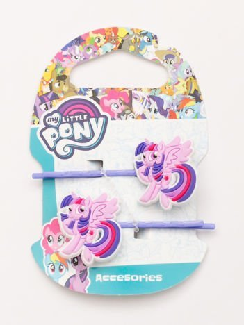 MY LITTLE PONY Zestaw 2 szt. fioletowych wsuwek do włosów dla dziewczynki