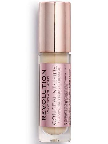 Makeup Revolution Conceal and Define Concealer Korektor w płynie C6 3,4ml