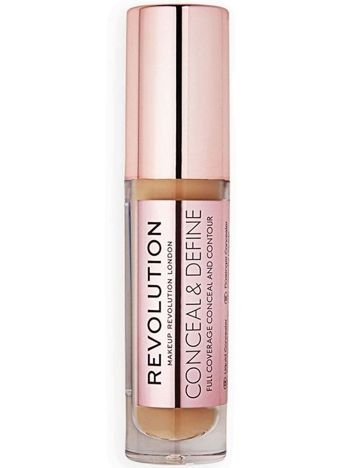 Makeup Revolution Conceal and Define Korektor w płynie C12 3,4ml