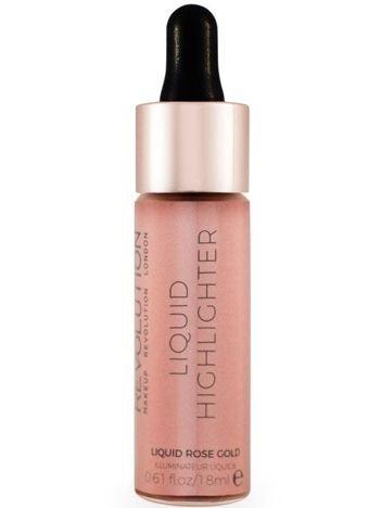 Makeup Revolution Liquid Highlighter Rozświetlacz w płynie Liquid Rose Gold 18 ml