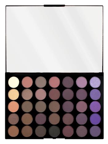 Makeup Revolution Pro HD Amplified 35 Palette Cienie do powiek Dynamic 30g (35 kolorów)