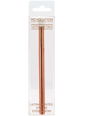 Makeup Revolution Ultra Metals Pędzel do cieni Pointed Crease Eyeshadow Brush E301