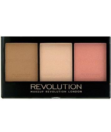 Makeup Revolution Zestaw do konturowania Ultra Sculp & Contour Kit Fair C01 11 g