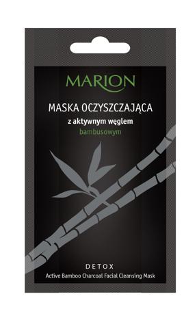 """Marion Detox Aktywny Węgiel Maska oczyszczająca  10g"""""""