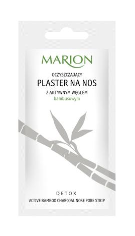 """Marion Detox Aktywny Węgiel Plaster na nos oczyszczający 1szt"""""""