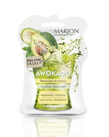 "Marion Fit & Fresh Maseczka do twarzy Awokado 7.5ml"""