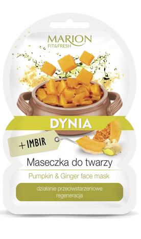 "Marion Fit & Fresh Maseczka do twarzy Dynia+Imbir  9g"""