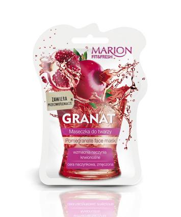 "Marion Fit & Fresh Maseczka do twarzy Granat  7.5ml"""