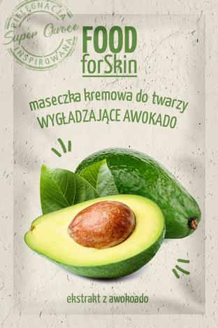 """Marion Food for Skin Maseczka kremowa do twarzy - wygładzające Awokado  6ml"""""""