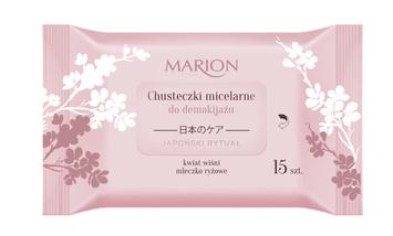 Marion Japoński Rytuał Chusteczki micelarne do demakijażu 15 szt.