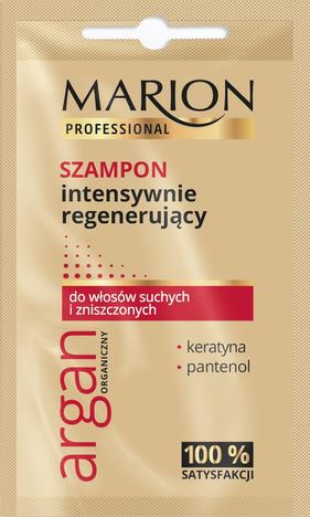 Marion Professional Argan Organiczny Szampon intensywnie regenerujący 10g - saszetka