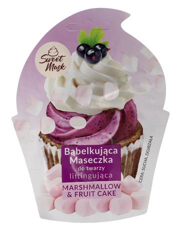"""Marion Sweet Mask Bąbelkująca Maseczka do twarzy liftingująca Marshmallow&Fruit Cake 6g"""""""