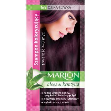 Marion Szampon koloryzujący 4-8 myć nr 66 dzika śliwka