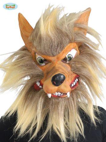 Maska dla dorosłych na imprezę Wilkołak