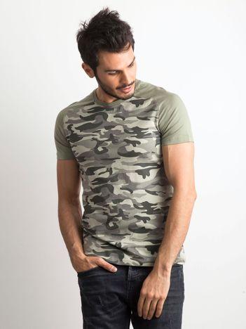 Męski t-shirt moro