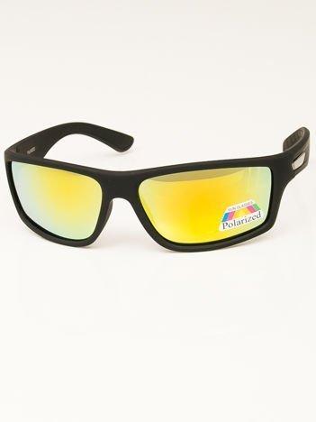 Męskie Okulary Przeciwsłoneczne POLARYZACYNE Lustrzane