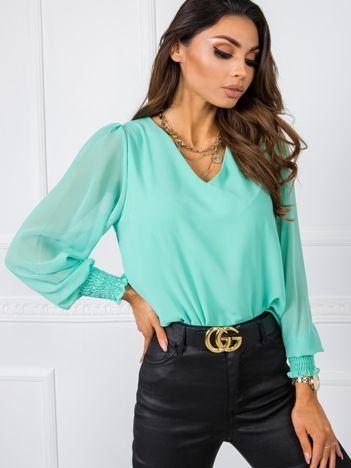 Miętowa bluzka Amelia RUE PARIS