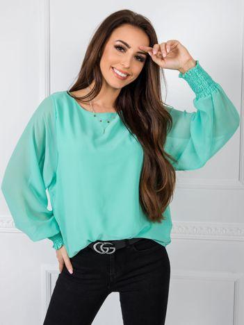 Miętowa bluzka Laylla RUE PARIS