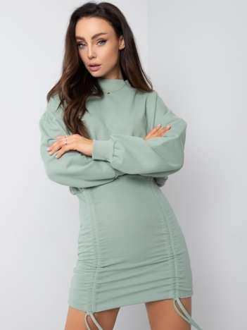 Miętowa sukienka Hazel RUE PARIS