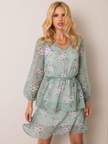 Miętowa sukienka Jenna RUE PARIS