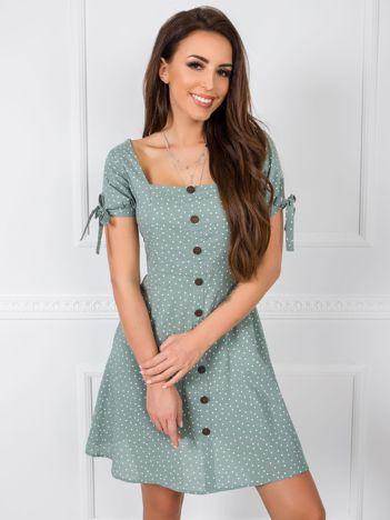 Miętowa sukienka Tilde RUE PARIS