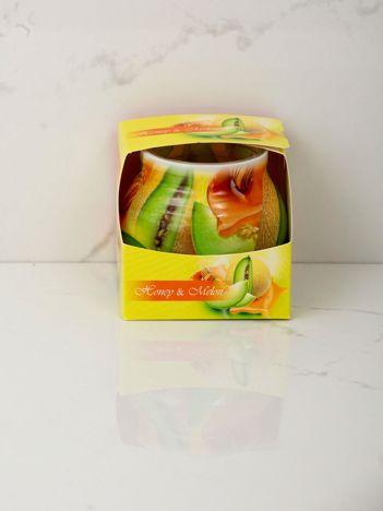 Miodowo-melonowa świeca zapachowa