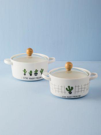 Miska ceramiczna biała
