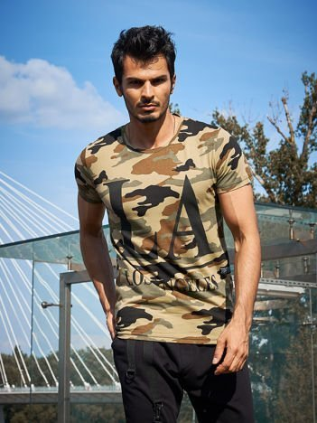 Moro t-shirt męski LOS ANGELES