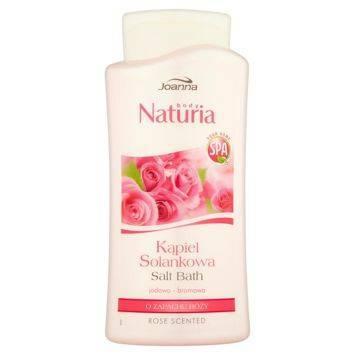 NATURIA Kąpiel solankowa Róża 500 ml