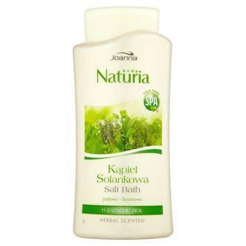 NATURIA Kąpiel solankowa Zioła 500 ml