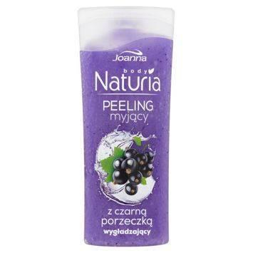 NATURIA Peeling  myjący z czarną porzeczką  100g