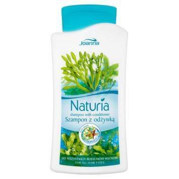 NATURIA Szampon 2w1 do wszystkich rodz. włosów z algami morskimi 500ml