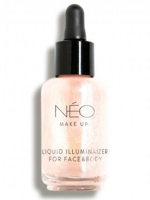 NEO Make Up Nabłyszczacz do twarzy i ciała Liquid Illuminaizer for Face & Body 30 ml