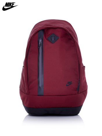 NIKE Bordowy plecak szkolny z czarną wstawką