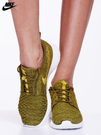 NIKE buty damskie do biegania WMNS ROSHE ONE FLYKNIT oliwkowe