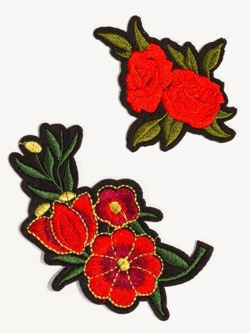 Naprasowanka - modna ozdoba odzieży 2 szt. (wymiary: 10,5 x 7 cm + 8 x 6,5 cm)