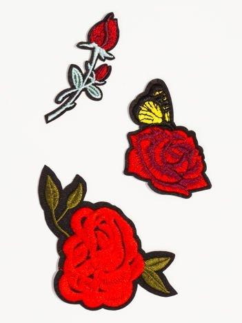 Naprasowanka - modna ozdoba odzieży 3 szt. (wielkość: 4 - 8 cm)