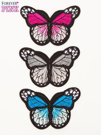 Naprasowanka - modna ozdoba odzieży 3 szt. (wymiar każdej: 7 x 4,5 cm)
