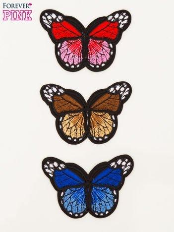 Naprasowanka - modna ozdoba odzieży 3 szt. (wymiary każdej: 7 x 4,5 cm)