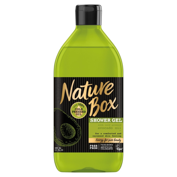 Nature Box Avocado Oil Ĺ»el pod prysznic pielÄ™gnujÄ…cy  385ml