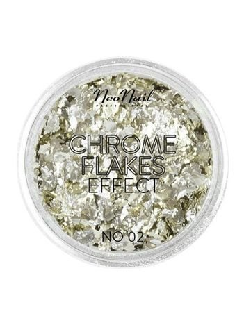 NeoNail CHROME FLAKES EFFECT NR 02 0,8 g