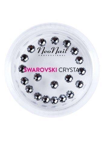 NeoNail Cyrkonie Swarovski SS9 (L) Crystal 001 Silver Night 20 szt.