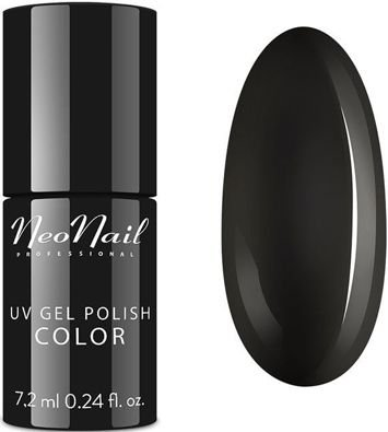 NeoNail Lakier Hybrydowy 2996 - Pure Black 7,2 ml